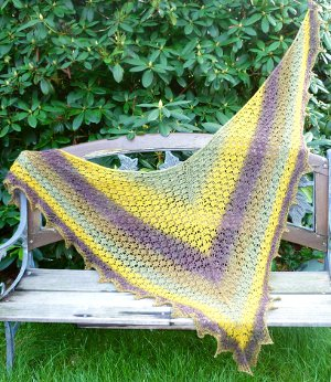 Meadow Lace Shawl