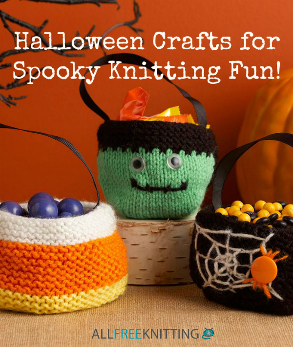 64 Halloween Crafts For Spooky Knitting Fun