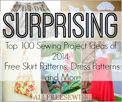 Surprising Top 100 Sewing Project Ideas of 2014: Free Skirt Patterns ...