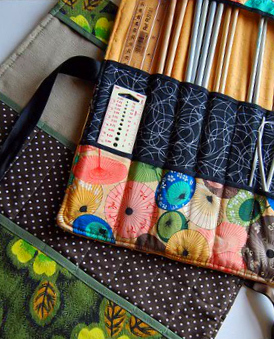 Umbrella Knitting Needle Case