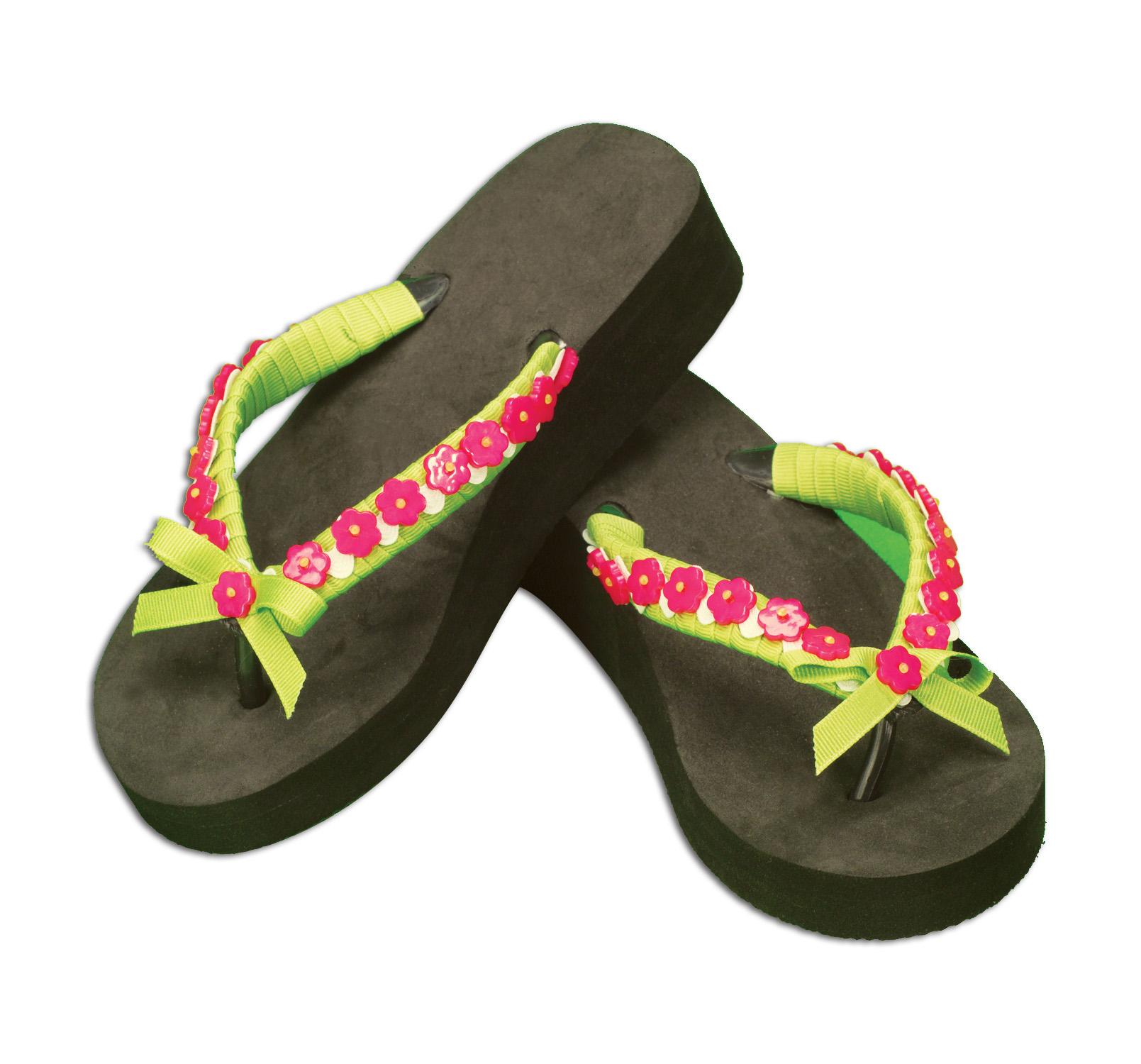 Embellished Flip Flops Favecrafts Com