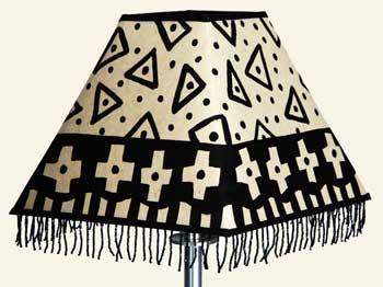 Decorated Fringe Lamp Shade