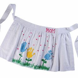 Fun Fingerpainted Apron