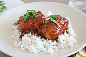 All-Day Honey Garlic Chicken