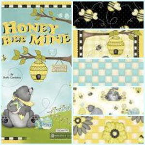 Honey Bee Mine Fabric Bundle Giveaway from Henry Glass & Co