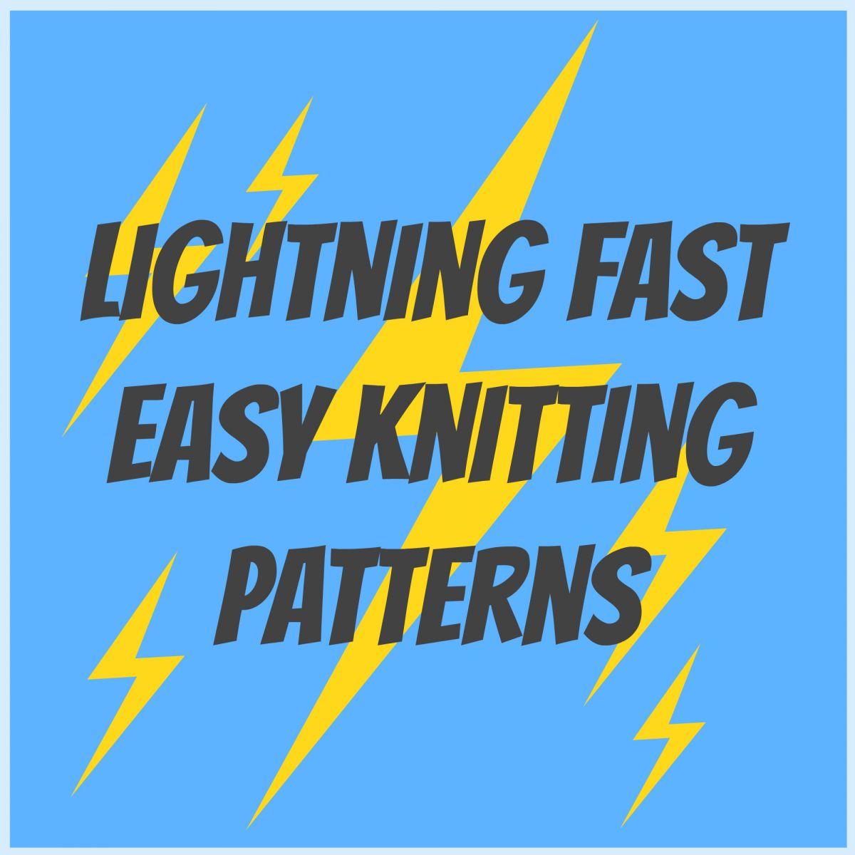 8 Lightning Fast Easy Knitting Patterns | AllFreeKnitting.com