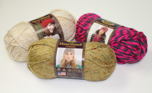 3 Lion Brand Skeins