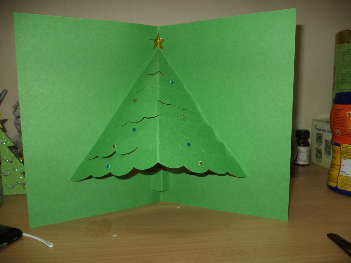 3d pop up tree card