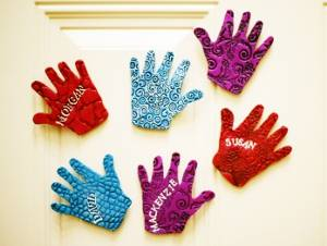 Precious Children's Hand Magnets
