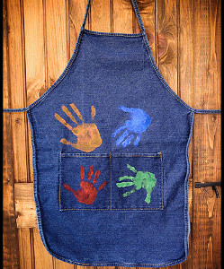 Printed with Love Apron