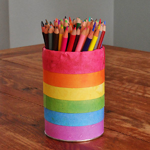 Rainbow Brite Pencil Holder