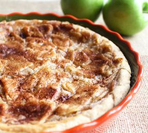 Shortcut Southern Apple Pie