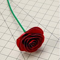 Simply Stunning Duct Tape Rose