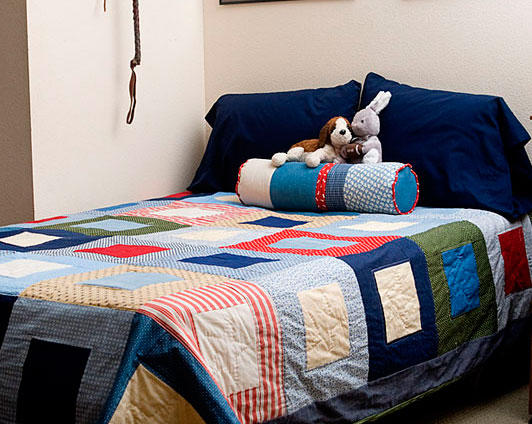26 free quilting patterns for children for Bed quilting designs