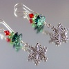 Snow in the Forest Earrings