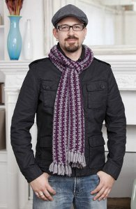 7 Crochet Scarf Patterns Men Will Love Favecraftscom