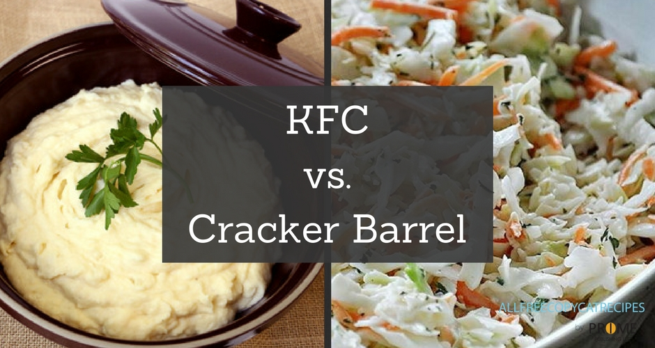 Team KFC vs. Team Cracker Barrel