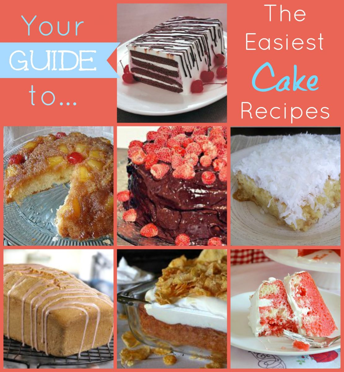 Your Guide to the Easiest Cake Recipes