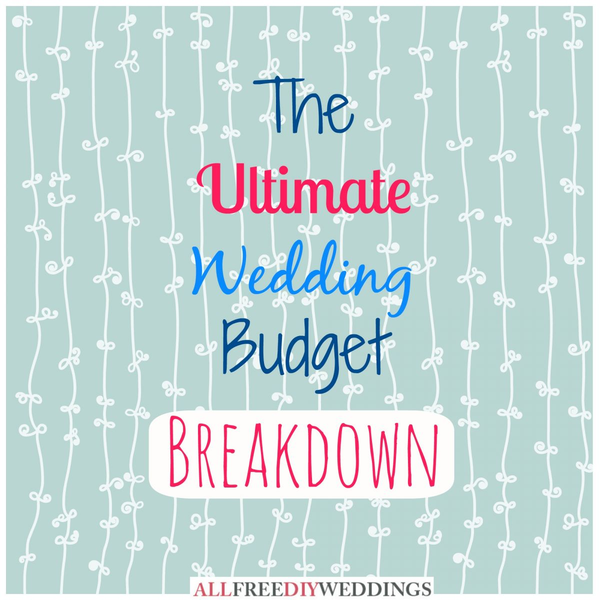 Wedding Planning Wedding Budget Breakdown AllFreeDIYWeddingscom