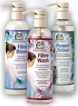 Unicorn Fibre Wash, Rinse, and Power Scour