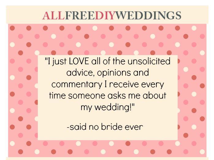 Funny Wedding Quotes | AllFreeDIYWeddings.com