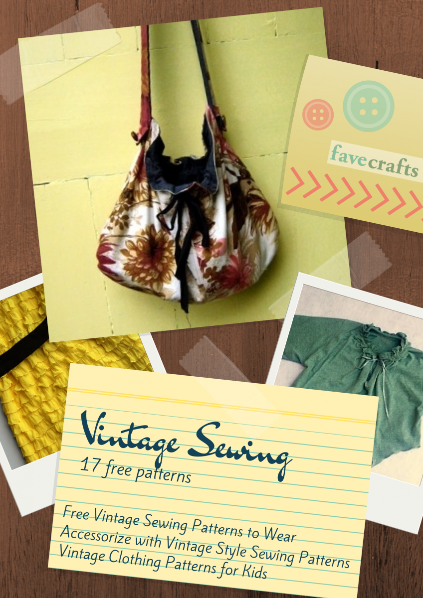 72a3367ec883c 17 Vintage Sewing Patterns   FaveCrafts.com